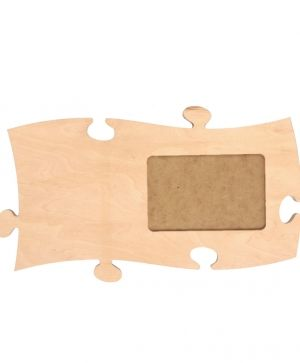 Wooden puzzle for wall, module 5 - IDEA0782