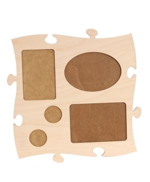 Wooden puzzle for wall, module 9 - IDEA0609