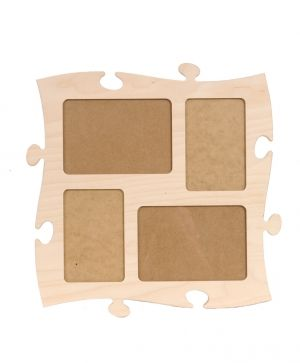 Wooden puzzle for wall, module 10 - IDEA0786