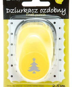 Craft punch 2,5cm - Christmas tree JCDZ-110-137