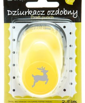Craft punch 2,5cm - Deer JCDZ-110-260