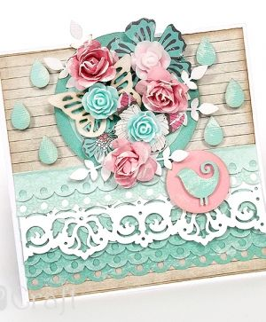 Border craft punch 4,5cm - Circle scallop JCDZ-607-107