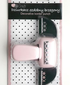 Border craft punch 4,5cm - Edge circles JCDZ-607-070