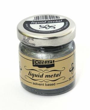 Liquid metal 30ml - silver P21080