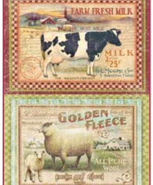 Decoupage Rice Paper A4 - Farm DFSA4111