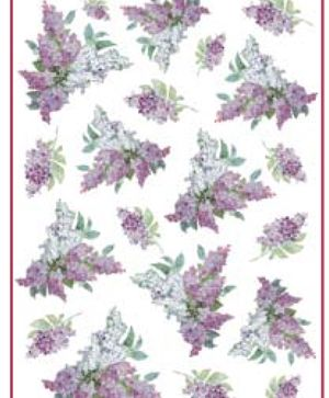 Decoupage Rice Paper A4 - Texture with lilac DFSA4106