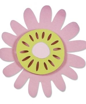 Sizzix Thinlits Die Set 2pcs - Meadow Flower 660810