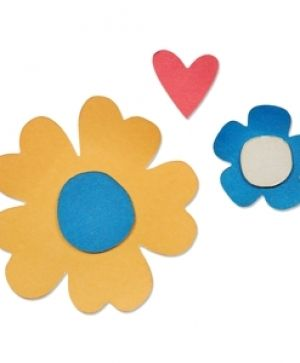 Sizzix Thinlits Die Set 5pcs - Woodland Flower 660814