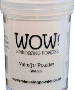 Embossing powder 160ml - Melt-It Powder WA50L