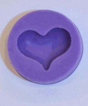 Silicone mould - Heart WZMOULD30