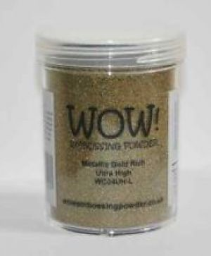 Embossing powder 15ml - Gold Rich, Ultra High WC04UH