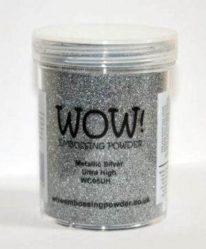 Embossing powder 15ml - Silver, Ultra High WC05UH