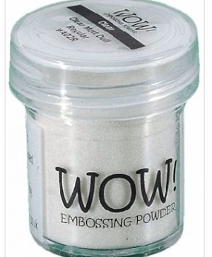 Embossing powder 15ml - Silver Pearl WE02R