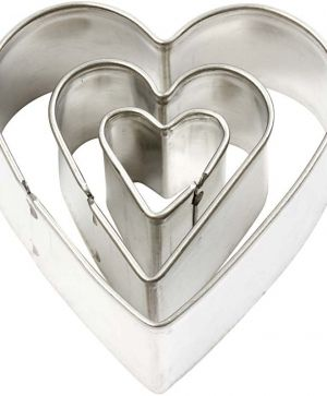 Cookie Cutters 3pcs - heart C78786