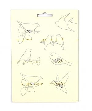 Chipboard - Birds IDEA0925