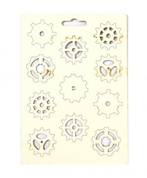 Chipboard - Gears IDEA0923