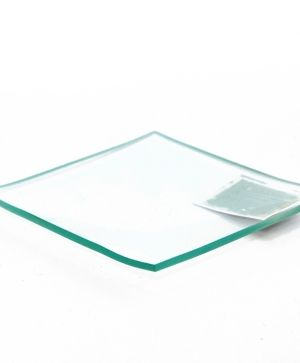 Glass bowl square 25х25см - P2836