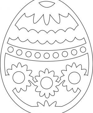 Wooden Easter figurine - IDEA0952