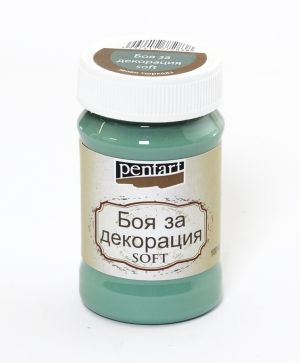 Dekor paint, soft 100 ml - turquoise - green P21643