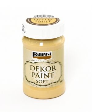 Dekor paint, soft 100 ml - egg-shell white P21629