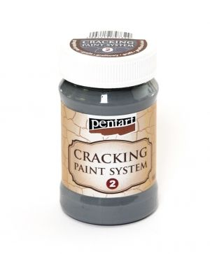 Cracking paint system 2, 100 ml - graphite-grey P22698