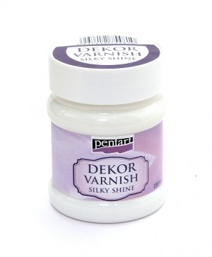 Dekor varnish silky shine 230ml - P22686