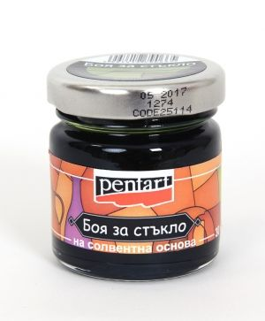 Paint glass 30 ml  - olive P25114