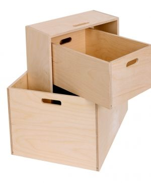Wooden storage box 40х30х14cm - IDEA1182