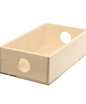 Wooden storage box 18х10х5 - IDEA1237