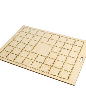 Wooden puzzle with 45 pcs - IDEA1238