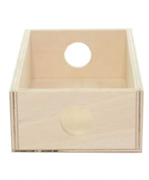 Wooden storage box 23x15x8cm - IDEA1239