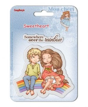 Clear stamps 10,5x10,5cm - Sweetheart 4 SCB4907007B