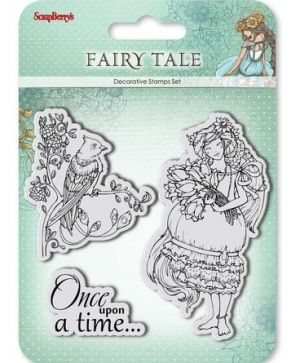 Clear stamps 10,5x10,5cm - Fairy tale. Once upon a time SCB4904009b