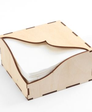 Wooden napkin holder - IDEA0764