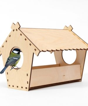 Wooden bird feeder - IDEAN1311