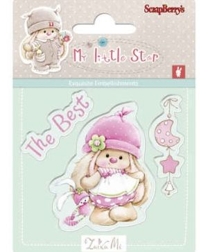 Clear stamps 7x7cm - Best Bunny SCB4907043