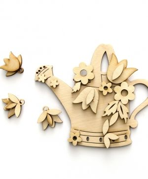 Wooden figurine - butterfly IDEA1335