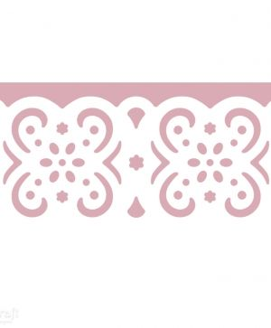 Decorative border punch 6,3x2,9cm - Lace JCDZ-608-020