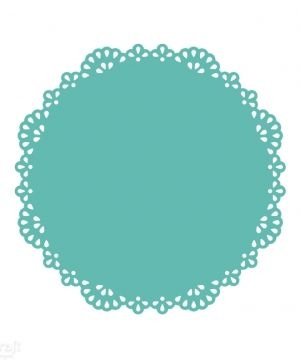 Doily craft punch 14,5x14,5cm - Lace JCDZ-803-007