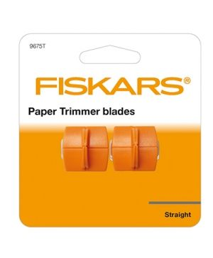 Fiskars Blades 2pcs - Straight Cutting FI9675T