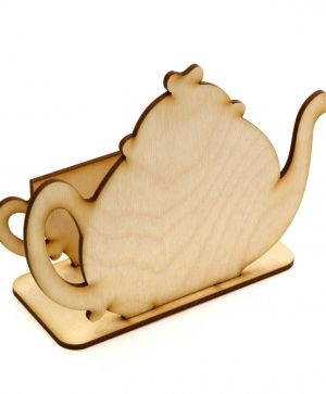 Wooden Christmas napkin holder - IDEA1159
