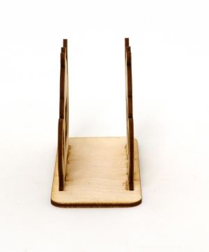 Wooden napkin holder - teapot IDEA1399