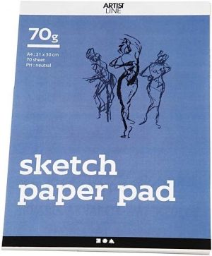 Drawing Paper Pad A4 70 sheets - C22101