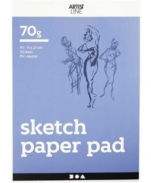 Drawing Paper Pad A5 70 sheets - C22102