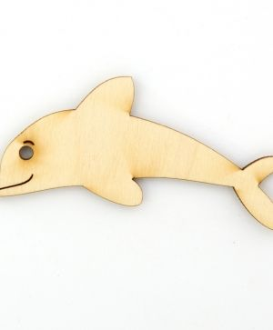 Wooden figurine - Dolphin IDEA1432