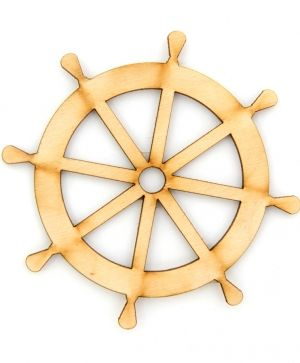 Wooden figurine - Ship wheel IDEA1430