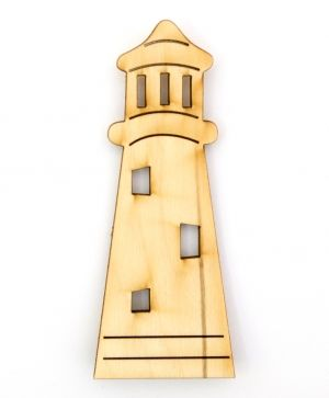 Wooden figurine - Lighthouse IDEA1426