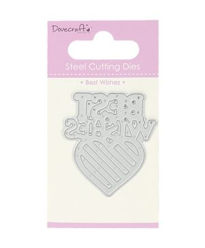 Shape-Cutting Die - Best Wishes DCDIE036