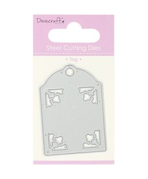 Shape-Cutting Die - Tag Cut Out DCDIE045