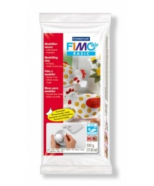 FIMO air-drying modelling clay 500g - white G81000